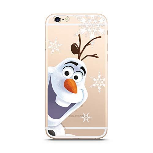 Finoo Hülle für iPhone 5 / 5S / SE - Disney Handyhülle mit Motiv und Optimalen Schutz TPU Silikon Tasche Case Cover Schutzhülle - Olaf Sterne