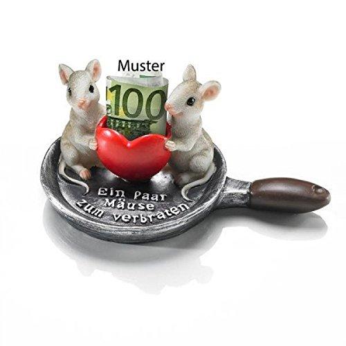 Ein paar Mäuse zum verbraten, tolle Präsentverpackung!