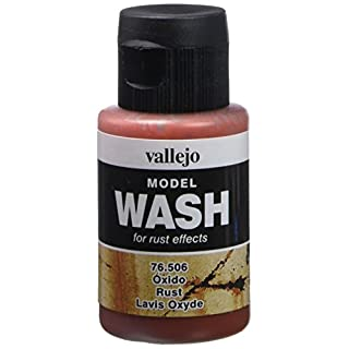 acrylicos Vallejo (35 ml Rost Modell Wash Paint