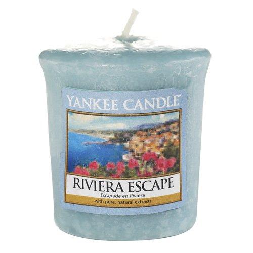 Yankee Candle Votivkerze, Wachs, Blau, 4.6x4.5x5.3 cm