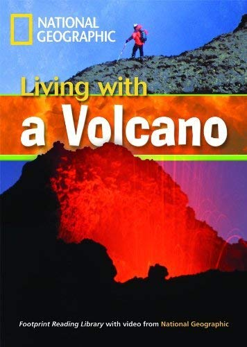 Living with a Volcano + Book with Multi-ROM: Footprint Reading Library 1300