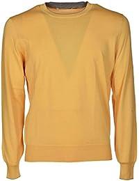 Amazon.it  maglione giallo - Brunello Cucinelli  Abbigliamento 00c07bfed80