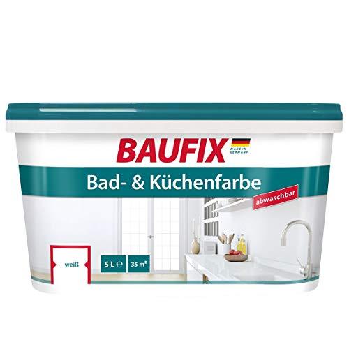 Baufix  Bad- und Küchenfarbe Spezialfarbe Weiß