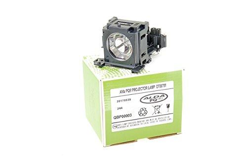 Alda PQ-Premium, Beamerlampe / Ersatzlampe kompatibel mit DT00751, RLC-017, 78-6969-9875-2 für HITACHI CP-X260, CP-X265, CP-X267, CP-X268A, HX-3180, HX-3188 Projektoren, Lampe mit Gehäuse