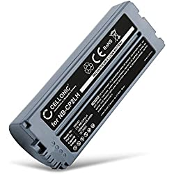 CELLONIC® Batterie Compatible avec Canon Selphy CP1200 CP1000 CP1300 CP910 CP900 CP800 CP810 CP820 CP510 CP780 CP710 CP720 CP730 CP740 CP770 CP400, 1200mAh NB-CP2LH NB-CP2L Accu Rechange Remplacement