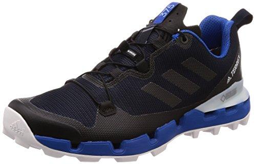 adidas Terrex Fast GTX-Surround, Scarpe da Trail Running Uomo, Blu Legink/Cblack/Blubea, 42 2/3 EU