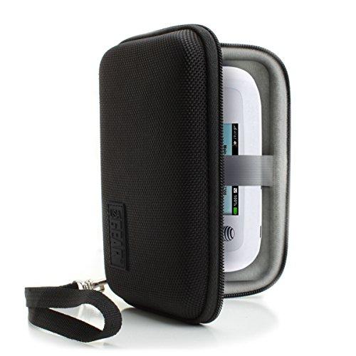 Custodia portatile WiFi Hotspot di USA Gear con cinturino da polso staccabile di sicurezza - Ideale per TP-Link M7350 Pocket Hotspot, Netgear AC810-100EUS Router Mobile, D-Link DWR-932 Pocket Hotspot 4G LTE e altro