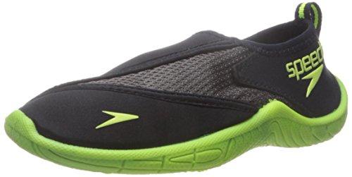 speedo-kids-surfwalker-pro-20-water-shoes-little-kid-big-kid-black-yellow-11-us-little-kid
