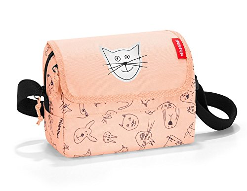Reisenthel everydaybag kids Umhängetasche IF3064, 20 cm, 2.5 L, Cats And Dogs Rose