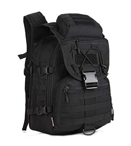 Yakmoo grande zaino di multifunzione impermeabil 40l zainetto militare tattico molle sistema borsa da studente sportivo per outdoors