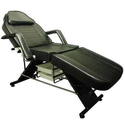 Preisvergleich Produktbild Pediküre Beauty Salon Stuhl – * * * * robuster Rahmen * * * * – Balance Massage Tattoo Facial Schlafcouch Tablett Tisch Couch (2,  schwarz)