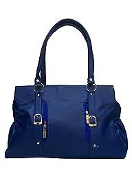 Vintage Stylish Ladies Handbag Blue (bag 30)