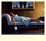 Kunstdruck / Poster Jack Vettriano - The Letter - 76 x 68cm - Premiumqualität - People & Eros, American Scene, Figur, Frau, schick, Zigarette, Rauchen - MADE IN GERMANY - ART-GALERIE-SHOPde