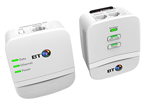 BT Mini Wi-Fi Home Hotspot 600 Kit with wired AV600 Powerline and N150 Wi-Fi