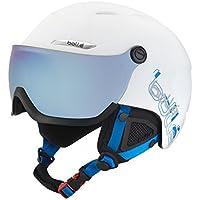 Bollé Casco de esquí B de yond Visor White/Grey/Blue, 58–61cm, 31168