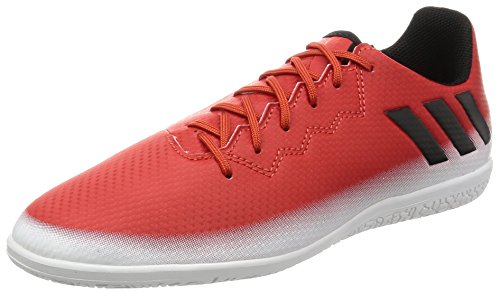 adidas Unisex-Kinder Messi 16.3 in Fußballschuhe Rot (Red/core Black/ftwr White)