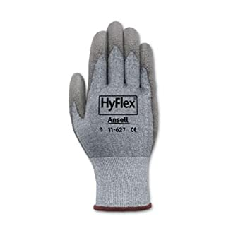 Ansell HyFlex CR2 Dyneema And LYCRA Cut Resistant Gloves - Size 11 - 11-627-11 by Ansell