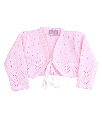 BabyPrem Babykleidung Bolero Jäckchen Pullover 56/62cm ROSA