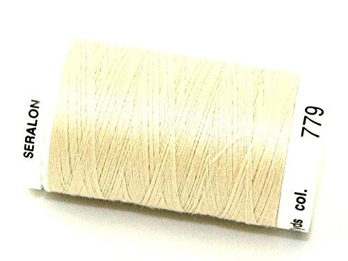 Mettler-Seralon Polyester Allgemeine Nähgarn 500m 500m 779Kiefer Mutter, Pro Spule + Gratis Minerva Crafts Craft Guide (Nähgarn Kiefer)