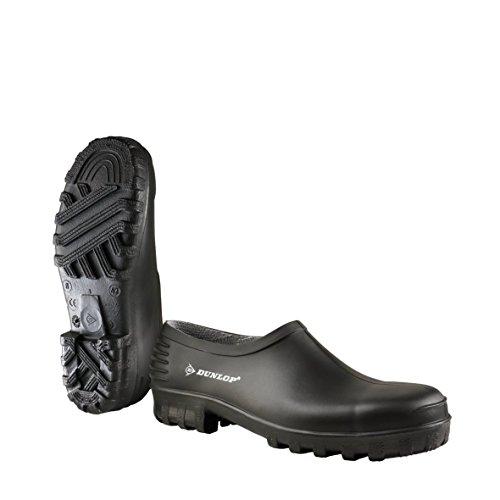 Dunlop Unisex-Erwachsene MonoColour Wellie Shoe Clogs, Schwarz (Zwart 00), 44 EU