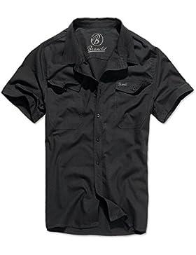 Brandit Hombres Roadstar Camisa Negro tamaño M