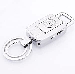 VelKro New Amazing car key USB rechargeable lighter/creative windproof electronic cigarette lighter personality fashion