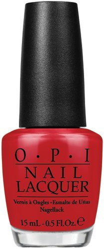 OPI Nail Lacquer, Red Hot Rio - NL A70, 0.5 Fluid Ounce by OPI - Del Rio Mantel
