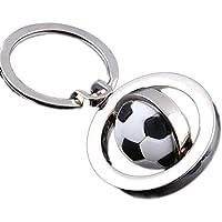 aloiness Balón de fútbol Llavero 3D Llavero de Deportes Llavero de Bola  giratoria Regalo de cumpleaños bd0497818c141
