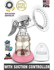 Trumom PPSU Gold Manual Advance Breast Feeding Pump with Su
