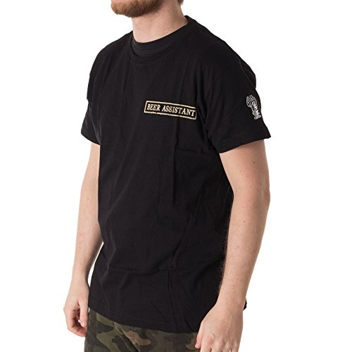 Gas Monkey Garage T-Shirt Patch, Farbe:black, Größe:2XL