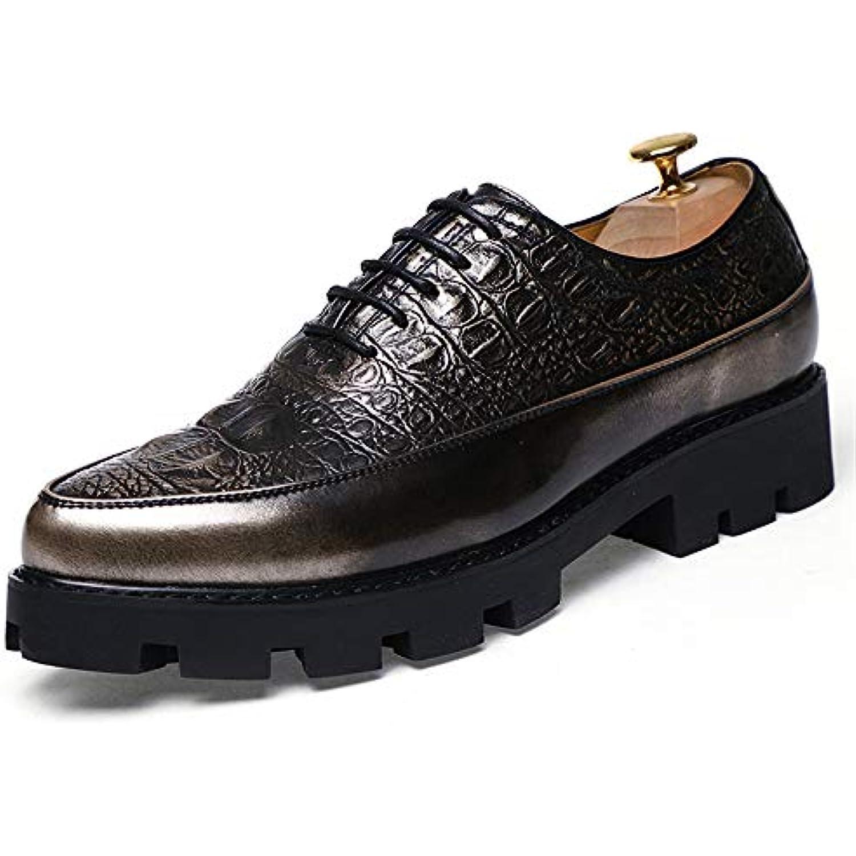 Xiaojuan-Chaussure s, Hommes Casual Business Oxford Chic Texture Peint Semelle Semelle Peint extérieure Souple Chaussures Formelles... - B07H9VNRDH - 4507cd