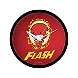 Mc Sid Razz Official DC Comics- Little Flash Wall Clock Gift Set Birthday