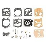 Yaoaofron K20-WAT kit de réparation de carburateur Outil de Reconstruction de Garniture Ensemble pour Walbro...