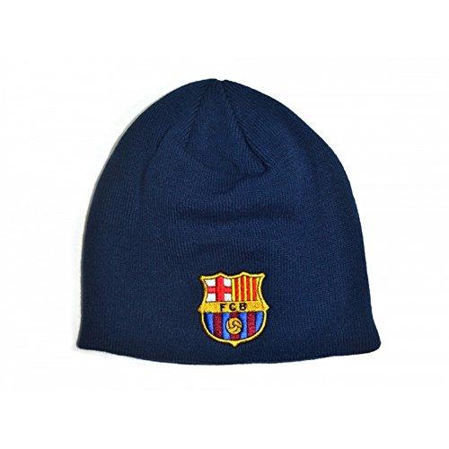 FC Barcelona Fußball Strick Beanie Mütze