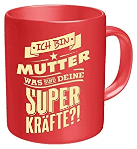 Rahmenlos Z882010 - Taza con Texto en alemán Ich Bin Mutter Tasse, Mehrfarbig