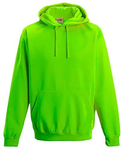 er NEON SWEATSHIRT green Kinder 12/13 Jahre (Jungen Sport-kostüme)