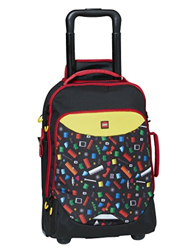 Lego trolley playroom originals zaino, 45 cm, 28 liters, multicolore (multicolor)