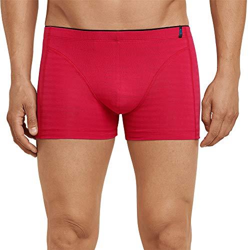 Schiesser Herren 95/5 Shorts Boxershorts, Rot (Rot 500), X-Large (Herstellergröße: 007)