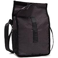 DARNA Go&Bag Lifestyle-N-Bolso de Comida, Color Negro, Compuesto, 22 cm