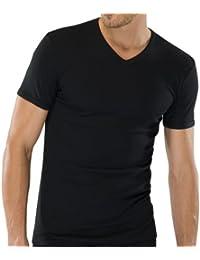 SCHIESSER Herren V-Neck T-Shirt Naturbursche 123626