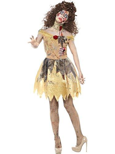 Damen Kostüm schöne Zombie Märchen Prinzessin Halloween (Halloween Märchen Prinzessin Kostüm)