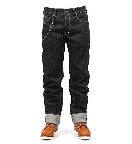 Pike Brothers Herren Jeans 1958 Roamer (Regular Fit)