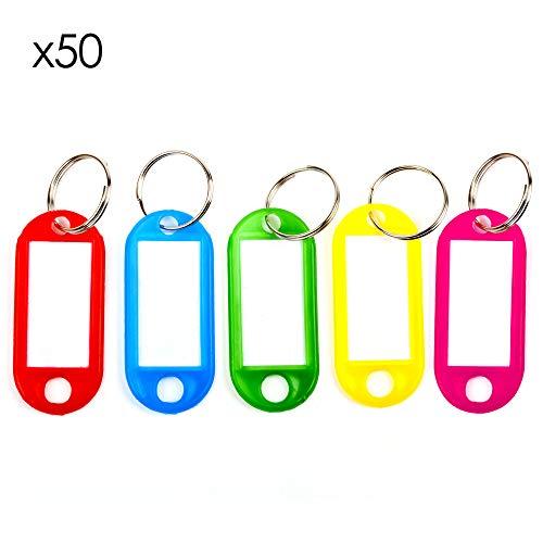 TRIXES Paquete 50 Etiquetas Codificadas Código Colores