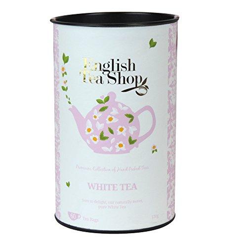 English Tea Shop - White Tea - 60 Tea Bags - 120g (Pack of 3)