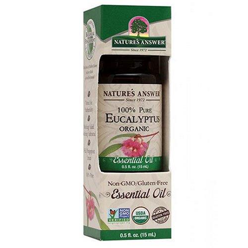 Nature's Answer - % organiques d'eucalyptus 100de l'huile essentielle Pure - 0.5 la Floride. once.
