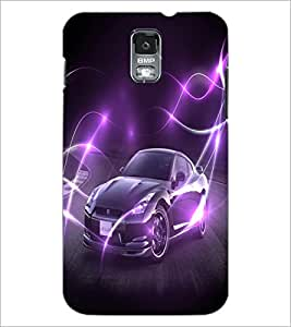 PrintDhaba Car D-2832 Back Case Cover for SAMSUNG GALAXY S5 (Multi-Coloured)