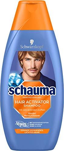 Schwarzkopf Schauma Shampoo Hair Activator Koffein, 1er Pack (1 x 400 ml)