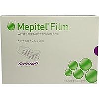MEPITEL Film Folienverband 6x7 cm 10 St Verband preisvergleich bei billige-tabletten.eu