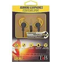 T NB Running ergonómica Auriculares Negro