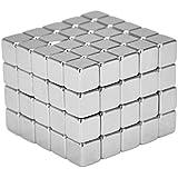 Néodyme Super aimant cubes 5 x 5 x 5 mm [100 pièces] aimants très puissants pour panneaux magnétiques en verre, panneau magnétique, tableau blanc, tableau noir, mur, réfrigérateur